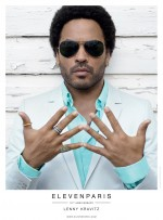 Lenny Kravitz & Charlotte Free for ELEVEN PARIS Spring/Summer 2013