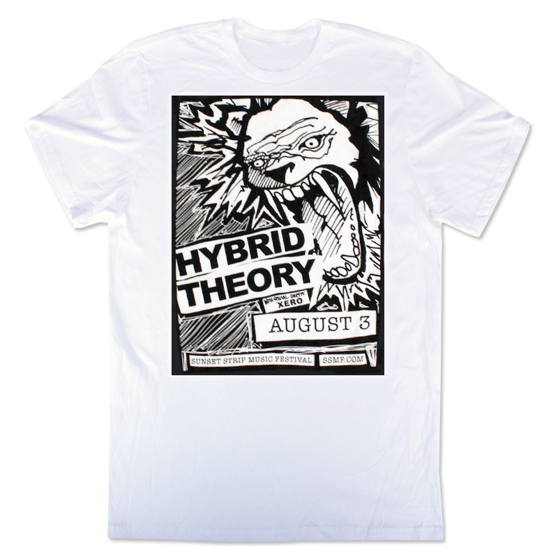 Exclusive Sunset Strip Music Festival Hybrid Theory T-Shirt (White)