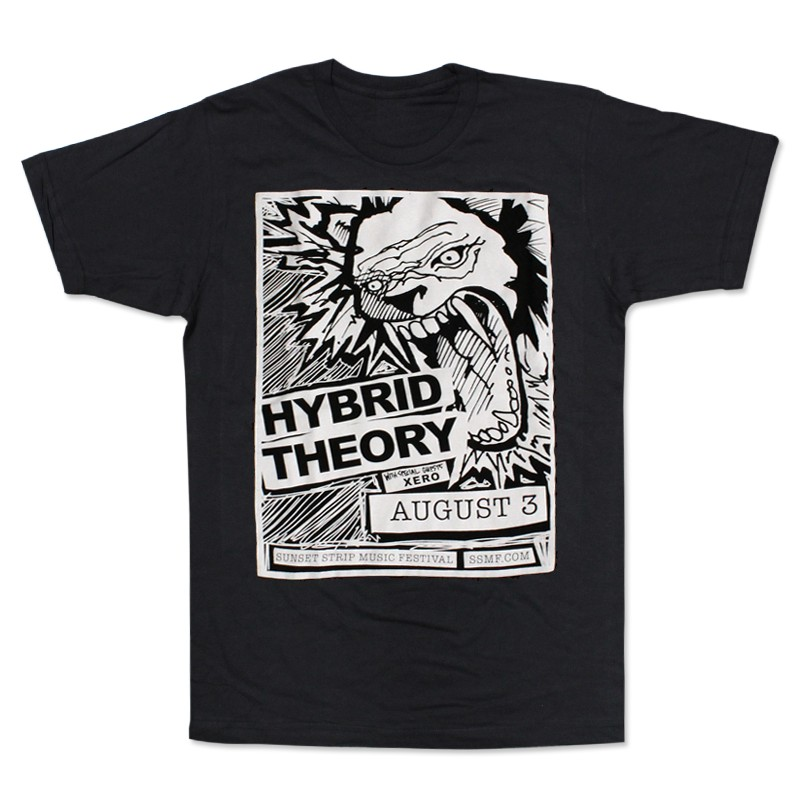 Exclusive Sunset Strip Music Festival Hybrid Theory T-Shirt (Black)