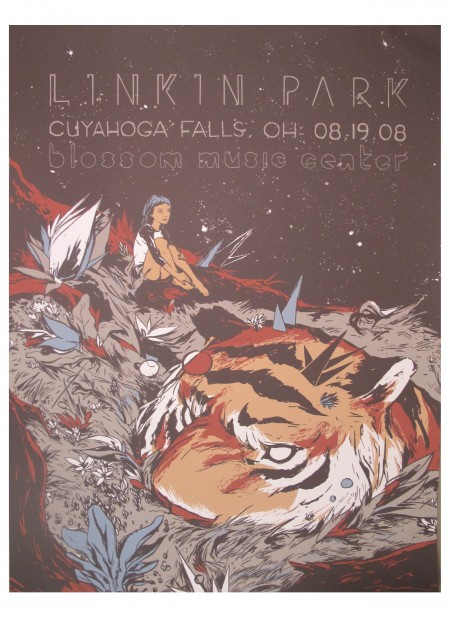 Linkin Park Poster de turismo Cuyahoga Falls, OH