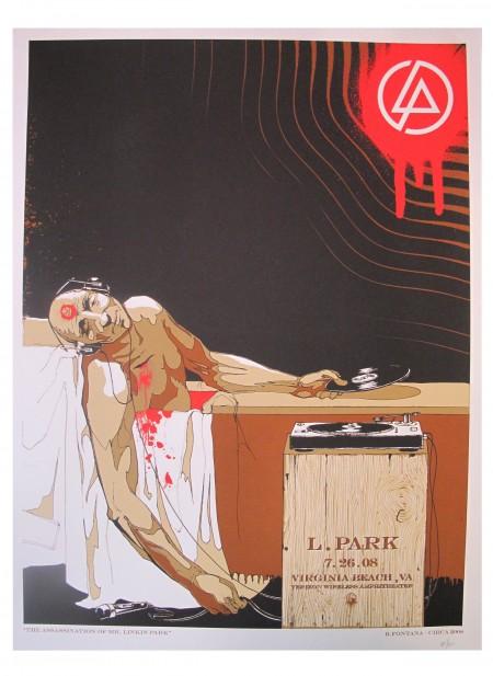 Linkin Park Poster de turismo Virginia Beach, VA