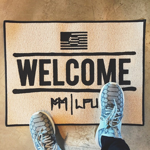 Fort Minor / LPU 'Welcome' Mat