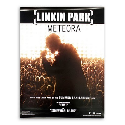 Linkin Park Meteora Poster Promo