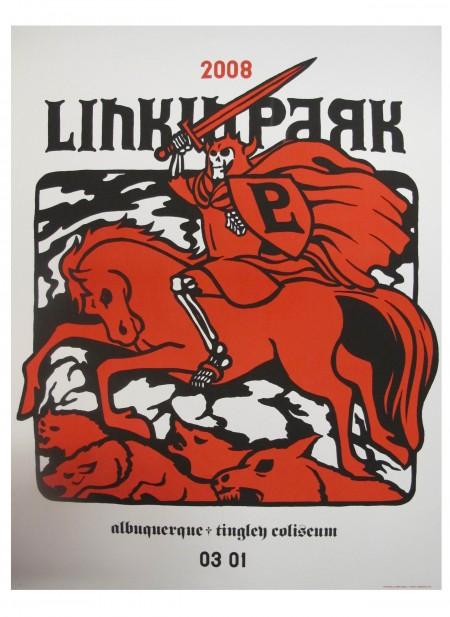 Linkin Park Tour Poster Albuquerque, NM