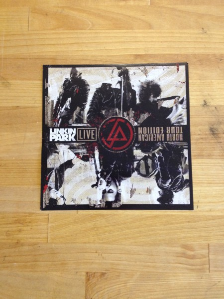 Linkin Park Live North American Tour Edition CD Insert (Points)