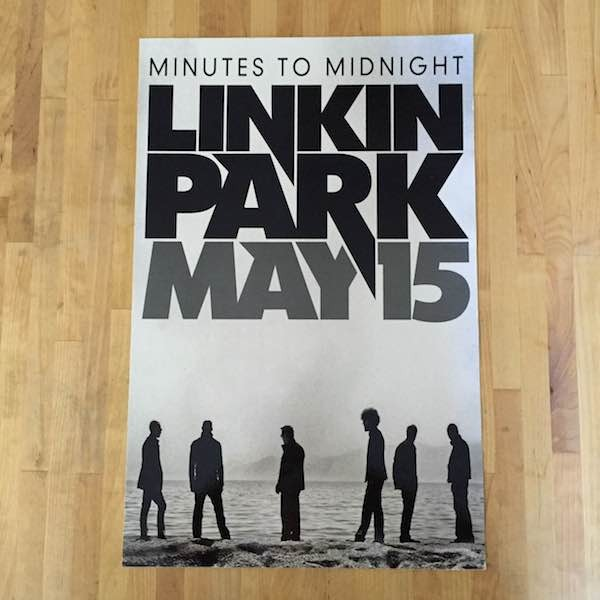 Minutes To Midnight Wall Sticker (Points)