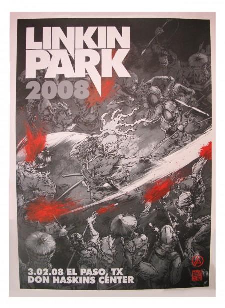 Linkin Park Poster de turismo El Paso, TX