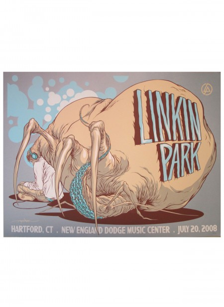 Linkin Park Tour Poster Hartford, CT image