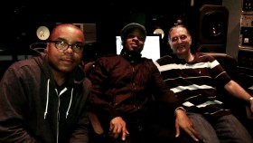 Ricky, Stokley and Dave Darlington at Bass Hit Studios