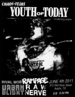 Chaos in Tejas presents Youth of Today