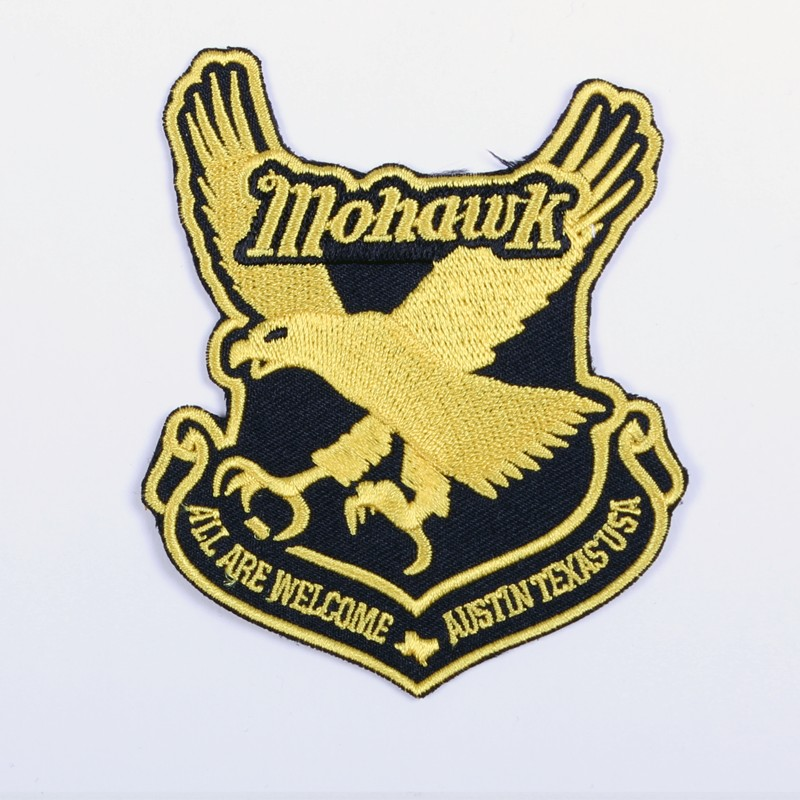 Mohawk Eagle Patch