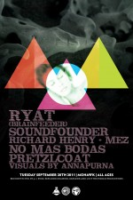 RYAT, NO MAS BODAS, SOUNDFOUNDER, RICHARD HENRY + MORE