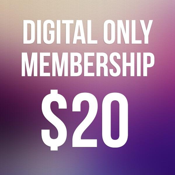 Digital Only Membership
