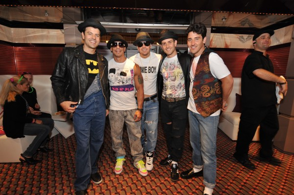 NKOTB CRUISE 2012 - 80s night!