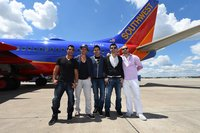 #NKOTBPartyPlane on Southwest Airlines