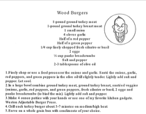 Image for BBQ WOOD - WOOD BURGERS!