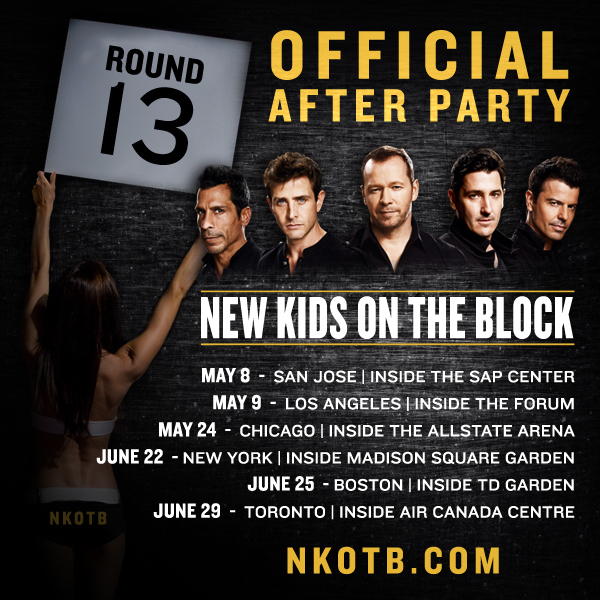 Image for Limited NKOTB After Party Packages On Sale MONDAY