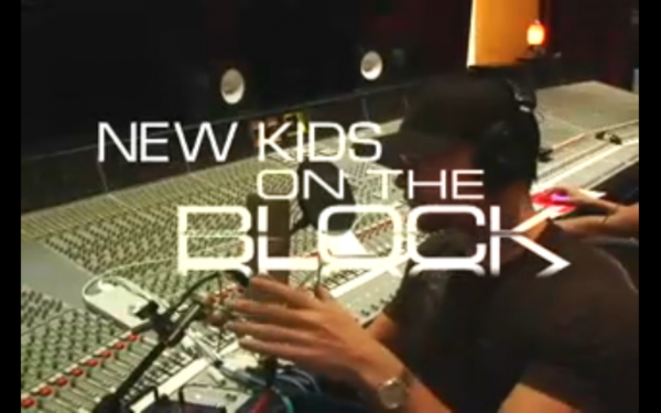 NKOTB MAKING THE ALBUM!