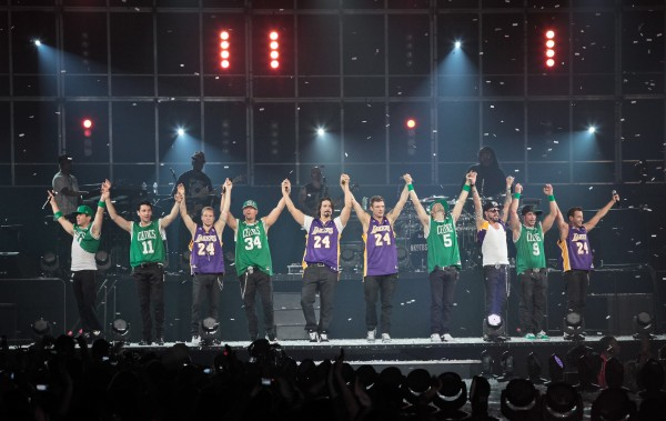 NKOTBSB STAPLES Center LA 7/1/11