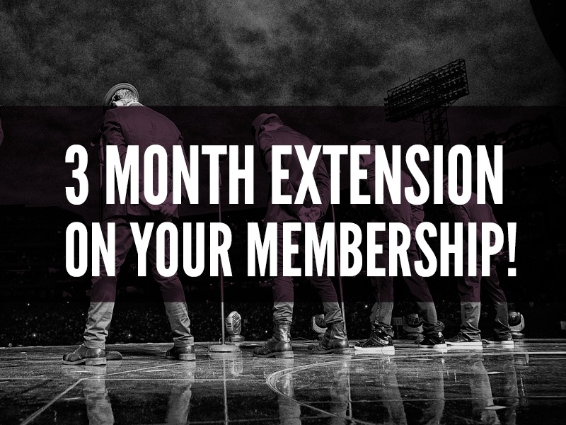 3 Month Membership Extension