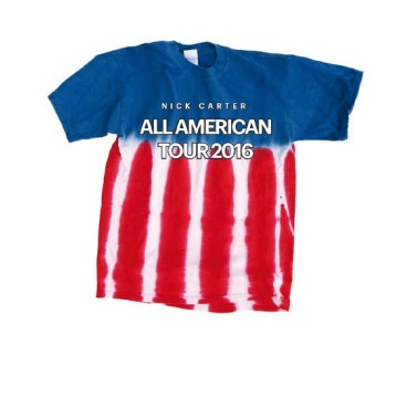 All American Tour Tie Dye Tee