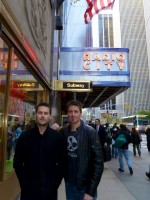 Ryan and Daniel in NYC
