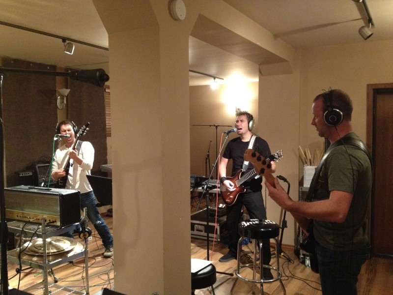 Band rehearsals for the 2012 JUNO Awards