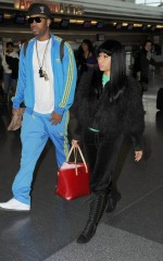 Nicki at JFK