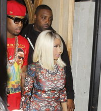 Aug 6 - Nicki Minaj leaving Supperclub