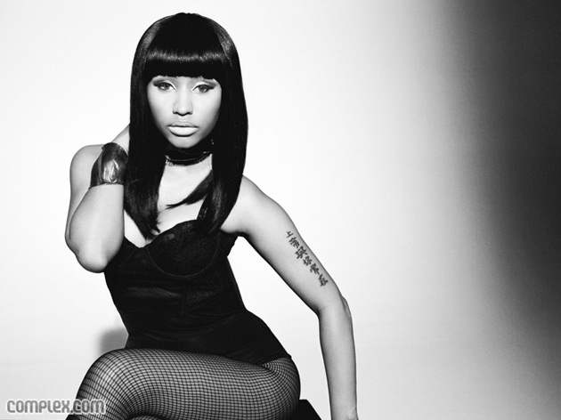 Nicki Minaj featured in Complex Magazine