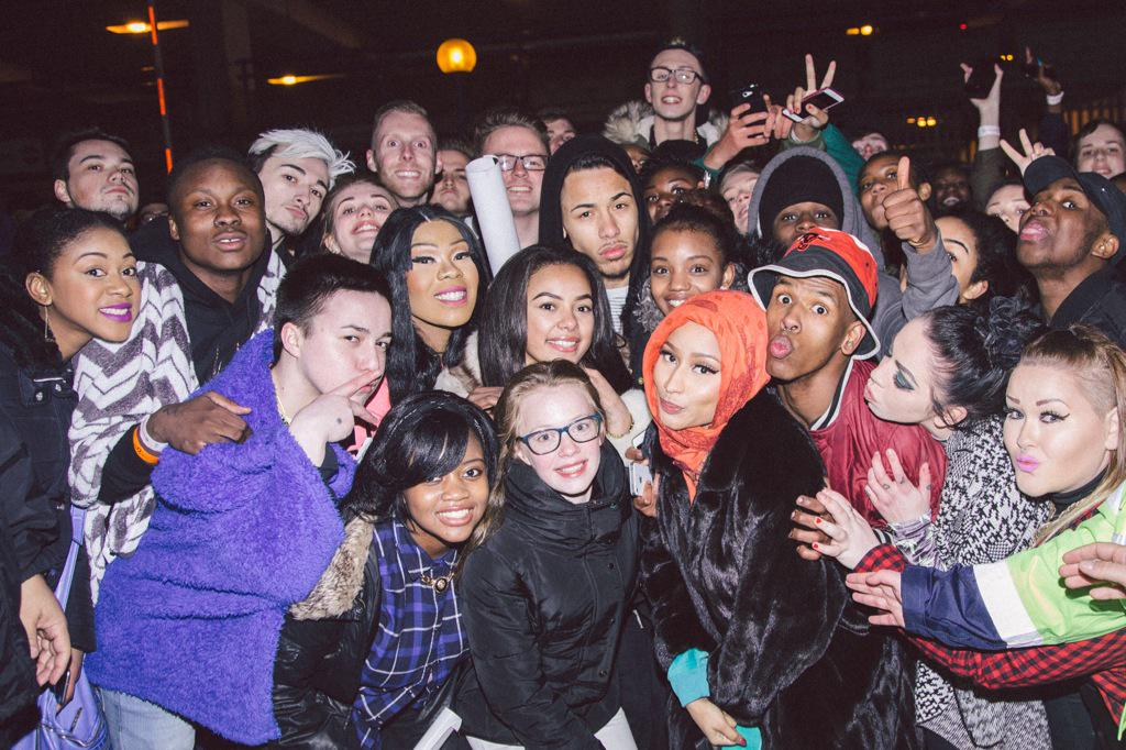 Last night rap 39 s reigning queen nicki minaj hit up for In birmingham they love the governor