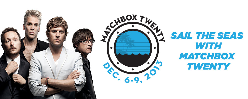 Sail the Seas with Matchbox Twenty