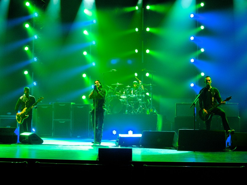 Creed Tour 2012, Beacon Theatre, NY on April 20. Photo Credits: Donny Korpi