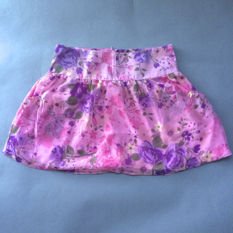 Pink Floral Skirt by Dream Out Loud (Small)