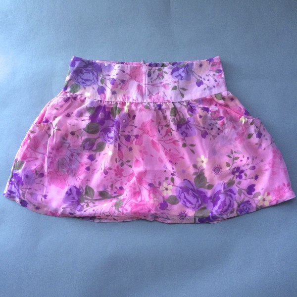 Pink Floral Skirt by Dream Out Loud (Small) image
