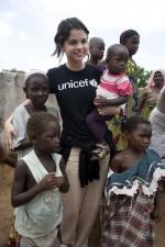 Selena Gomez, UNICEF Ambassador,  in Ghana, 2009