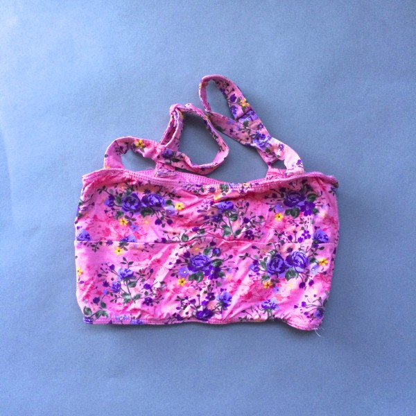 Floral Crop Top/Bandeau by Dream Out Loud (Small) image