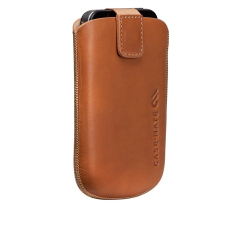 Case Mate Brown Leather Blackberry Case image