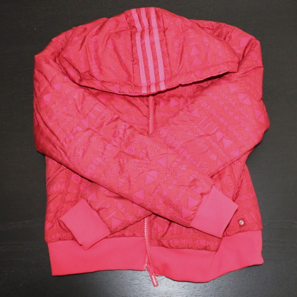 Neo Red Puffy Jacket