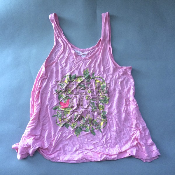 Pink Ultra Flowy Tank Top by Dream Out Loud (Small)