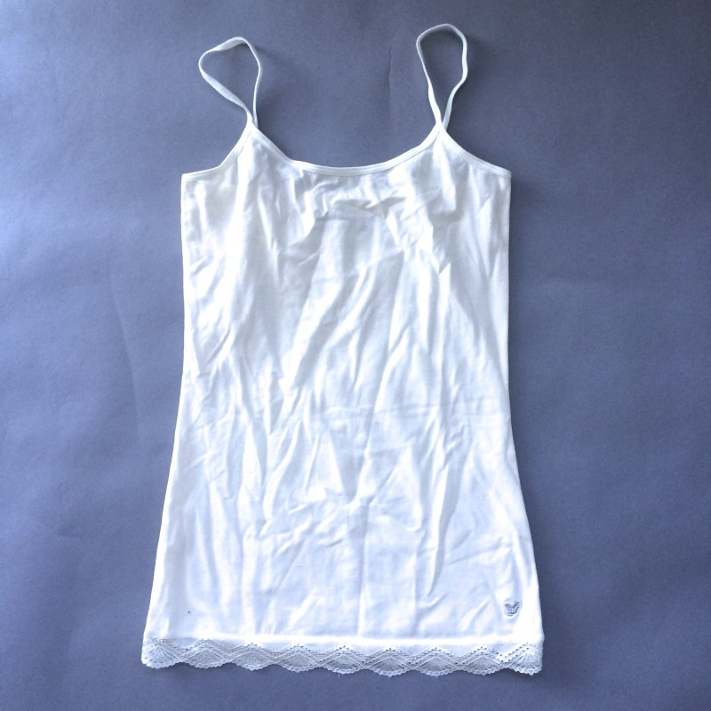 Cream Cami with Lace by Dream Out Loud (Small)