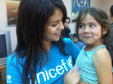 Selena and a young friend in Valparaiso, Chile, January, 2011
