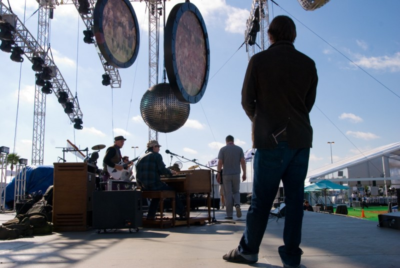 The Super Bowl 2010: Soundcheck