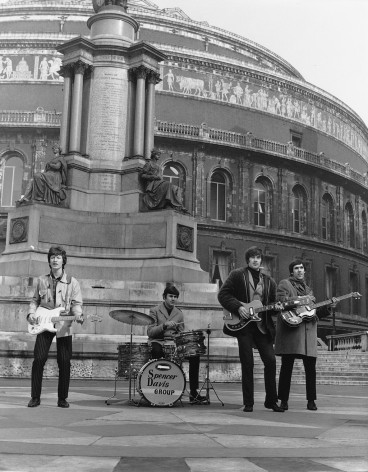 Spencer Davis Group (L to R): Steve Winwood, Pete York, Spencer Davis, Muff Winwood @ Royal Albert Hall, London, Circa 1965
