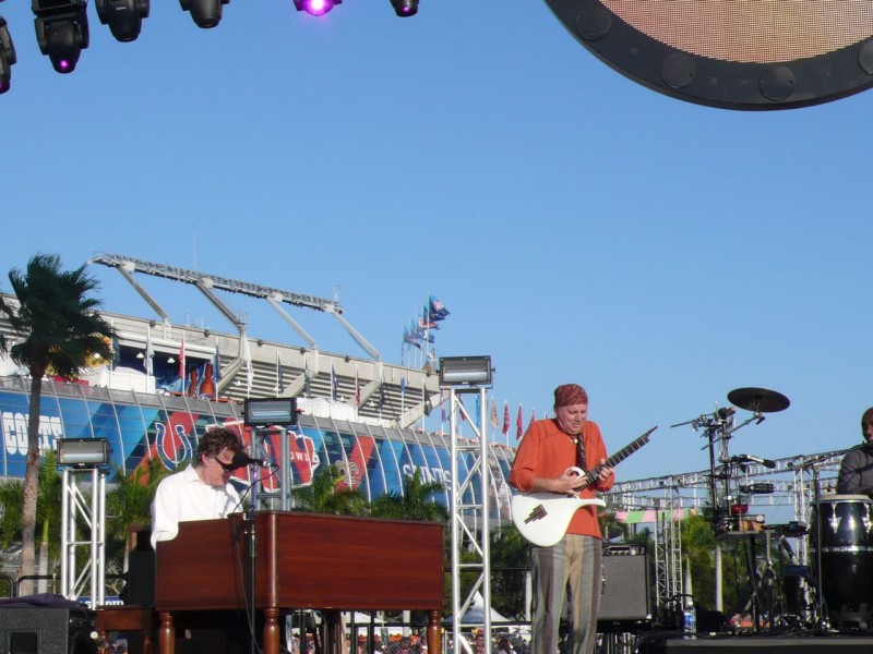 Steve Winwood and Jose Neto @ The Super Bowl 2010