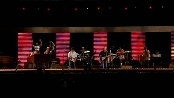 """Steve Winwood and Eric Clapton - """"Presence Of The Lord"""" - Live at The Crossroads Guitar Festival, 2007"""
