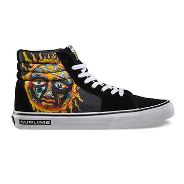 Limited Edition Sublime X Vans High Tops - Signed by Opie Ortiz