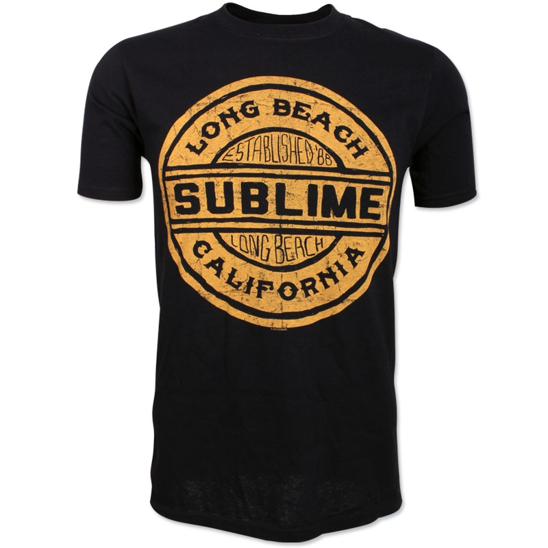 Gold LBC Stamp Logo Shirt
