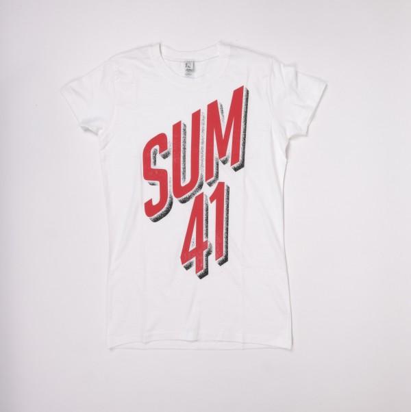 Slanted Logo T-Shirt (W)