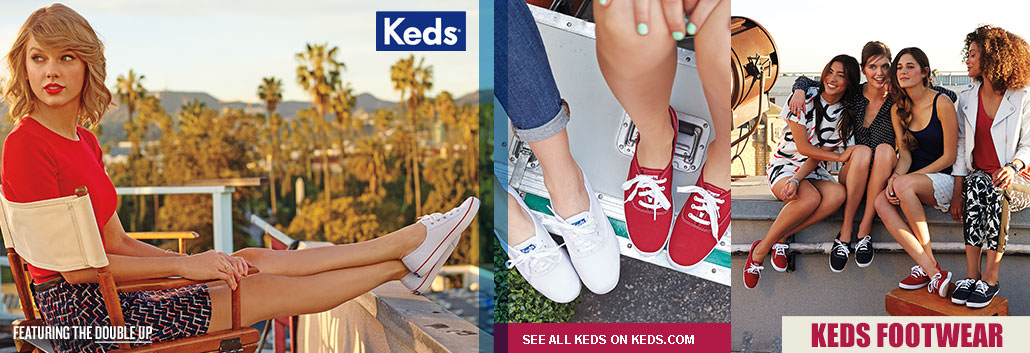 Keds - Featured the Double up!  See all Keds on keds.com